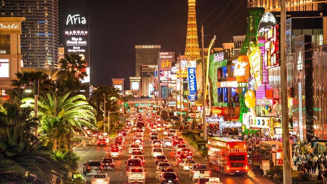Nöjen i spelstaden Las Vegas