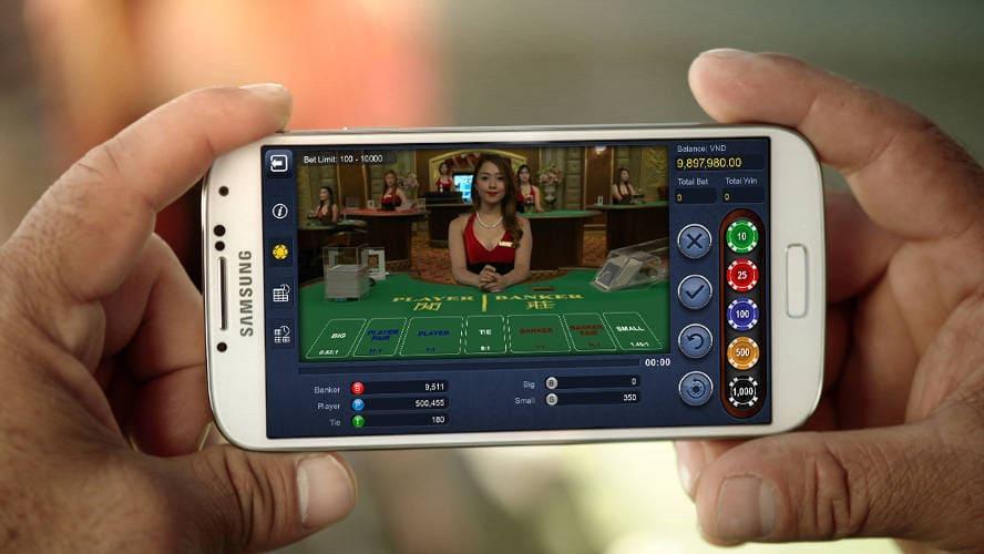 Live casino på mobilcasino