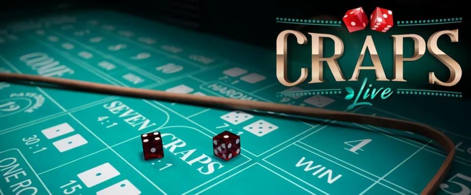 Tärningsspel – Craps live finns äntligen tillgängligt